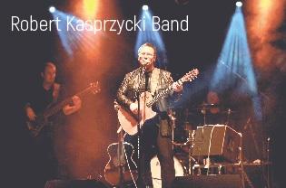 """Zaproszenie na koncert """"Gitarą i piórem"""" – """"U studni"""" i """"Robert Kasprzycki Band"""""""
