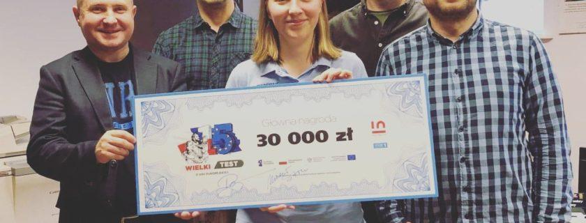 Michał Sitarski & Ruairi O'Neill  i 30 tys. dla Promyczka