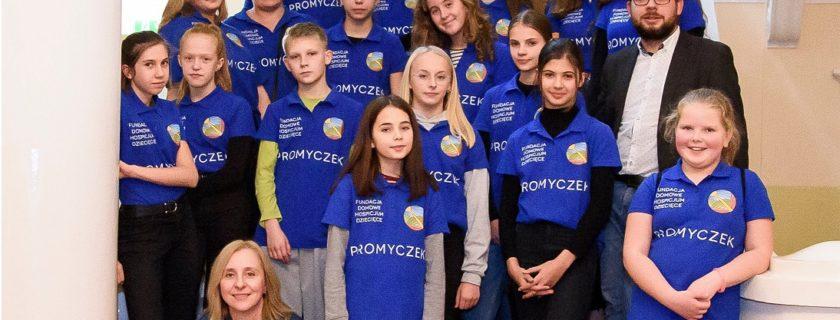 Spotkanie wolontariatu Hospicjum Promyczek