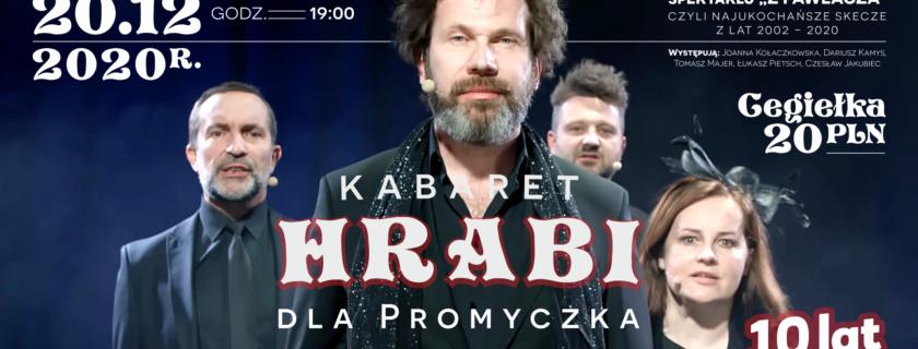 Kabaret HRABI dla Promyczka!