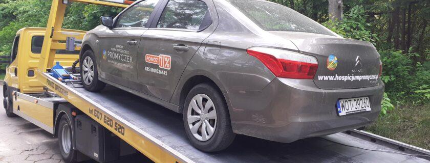 Skradziono katalizator z auta Promyczka!